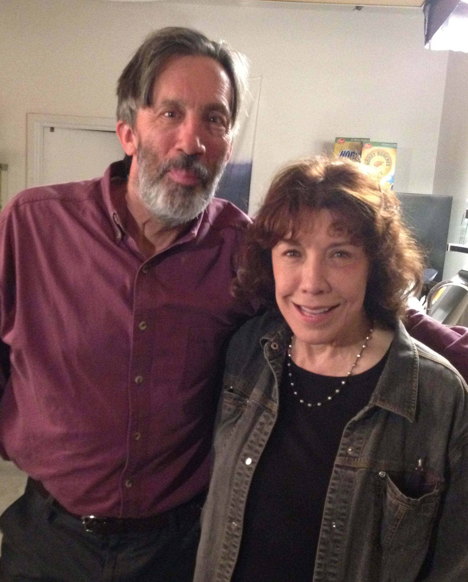 Frank appearing in Gramma with Lilly Tomlin