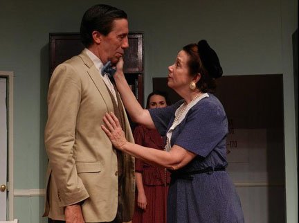 Harvey -Frank Collison as Harvey and his sister Molly Wise as his sister at the Highlands Playhouse in Highlands, NC